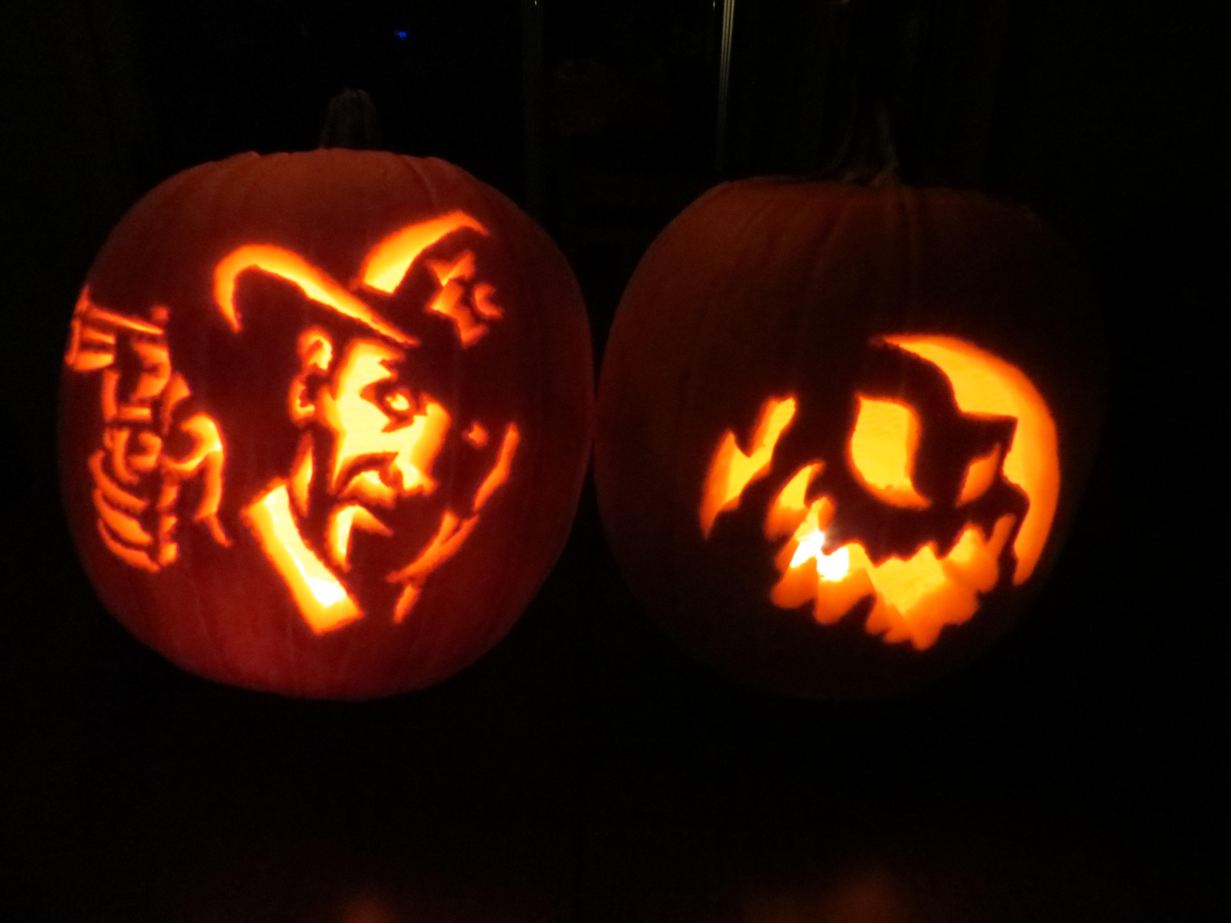 Halloween pumpkin carving craftyjada